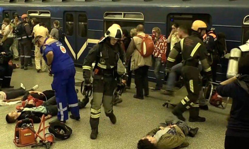 Соболезнования пострадавшим от взрыва в метро Санкт-Петербурга