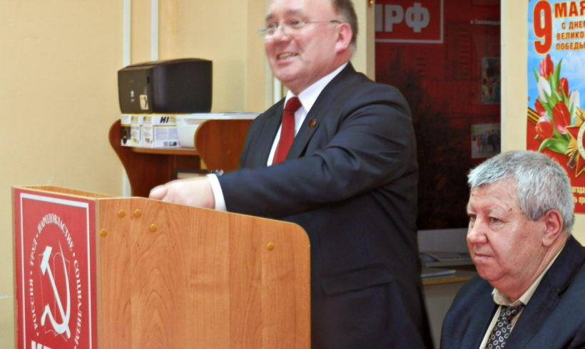 Н.Н. Иванов поздравляет калужан с праздником первомая!