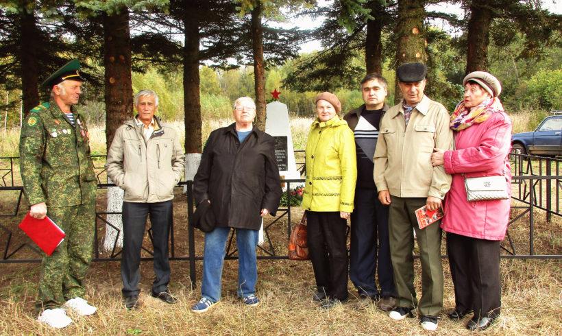 Открыли памятник погибшим участникам Великой Отечественной Войны