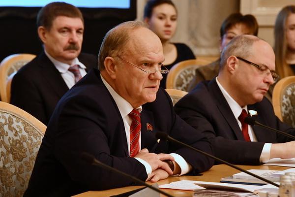 Г.А. Зюганов: Надо обеспечить достойные права каждому гражданину, а не только избранным!