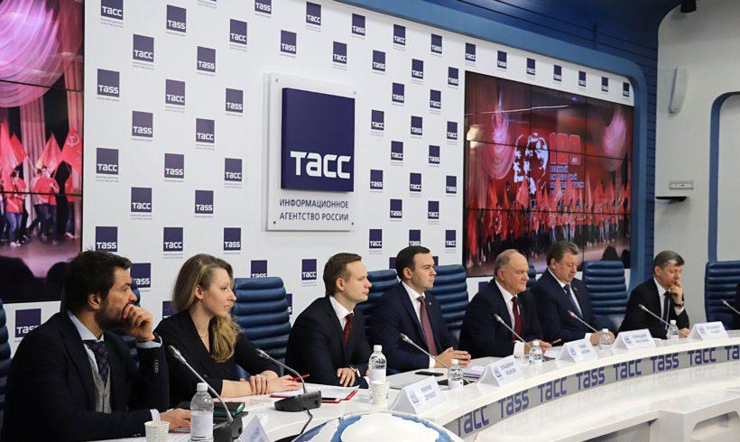 """Г.А. Зюганов: """"У нас умная сплоченная партия, нас нельзя ни запугать, ни расколоть""""."""
