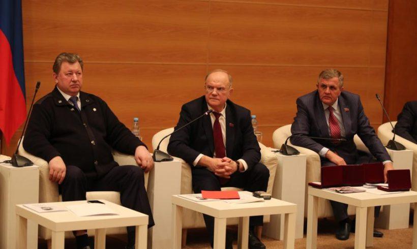 Г.А. Зюганов:«Сегодня мы вновь сражаемся за достоинство и единство страны»