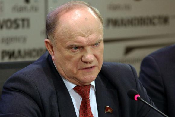 """Г.А. Зюганов: """"Манипуляции с выборами в Хакасии считаем преступными"""""""
