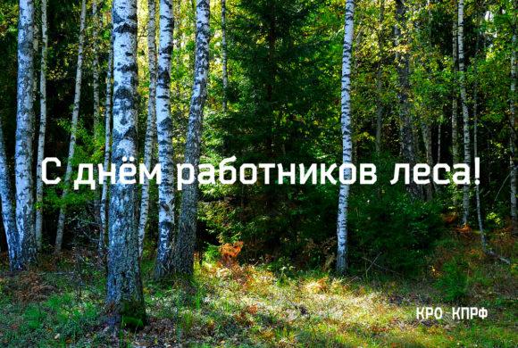 С днём работника леса!