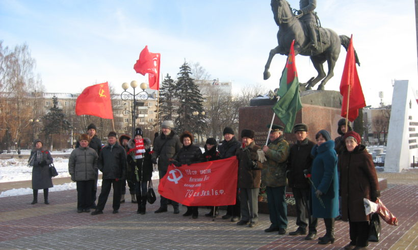 Калужане отпраздновали день рождения Маршала Победы