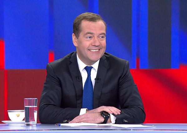 О чем не спросили Медведева