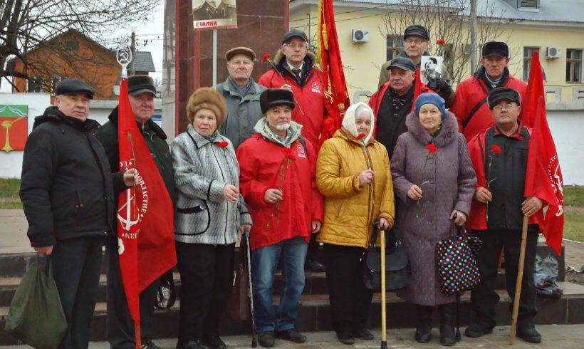 День 140-летия И.В.Сталина в Людинове