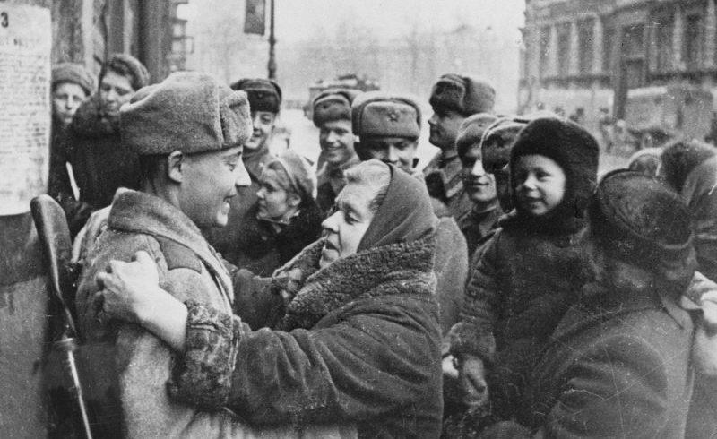 76 лет со дня снятия блокады Ленинграда.