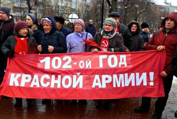 Слава Советской Армии!