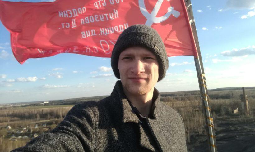 Знамя Победы реет над Калугой