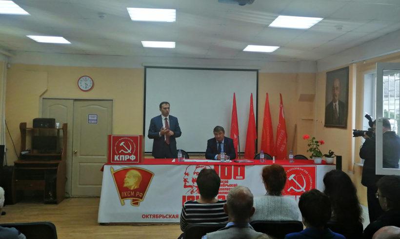 Афонин Ю.В. посетил Калугу с рабочим визитом