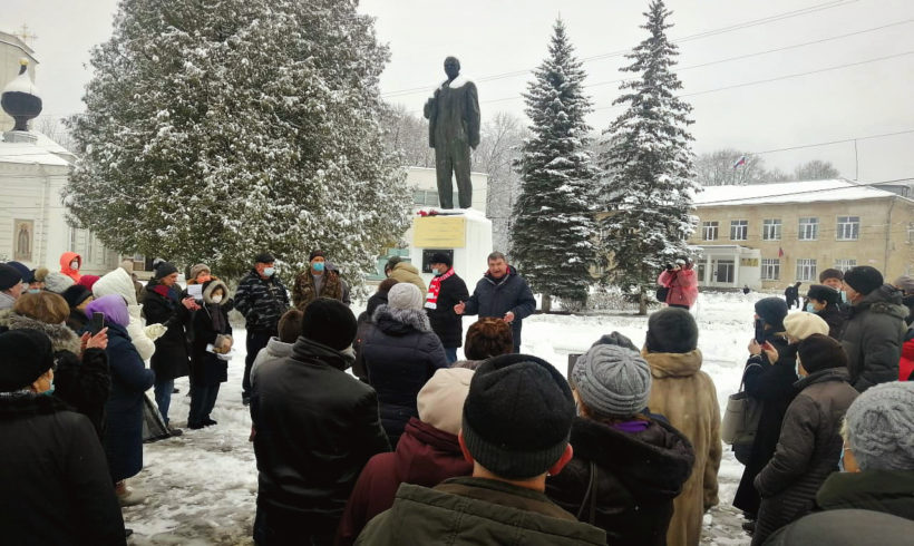 Жители Тарусы продолжают протестовать против переименования улиц в своем городе