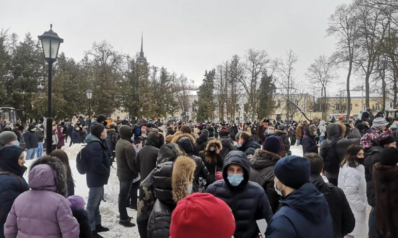Заявление КРО КПРФ по ситуации с митингами в поддержку Навального