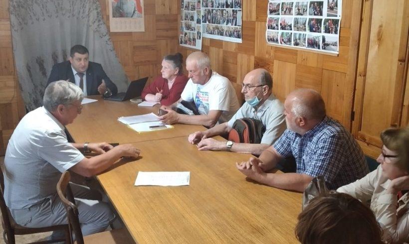 Встреча депутата в Тарусе