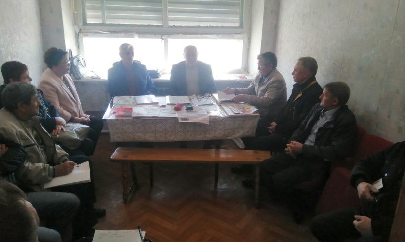 Секретари и члены Бюро КРО КПРФ провели встречи с Жуковским и Малоярославецким местными отделениями.